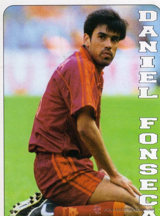 DANIEL FONSECA NUEVA SIN CIRCULAR AS ROMA CALCIO ITALIA (Coleccionismo Deportivo - Postales de otros Deportes )