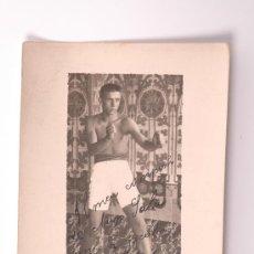 Coleccionismo deportivo: TARJETA POSTAL DE UN BOXEADOR. Lote 26973522