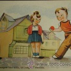 Coleccionismo deportivo: BOLOS - DIVERTIDA POSTAL. Lote 27358341