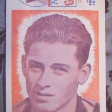 Coleccionismo deportivo: RAUL SCHIAFFINO, PEÑAROL - ANIBAL CIOCCA, NACIONAL - URUGUAY. Lote 27460730