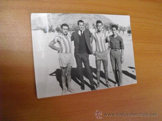 FOTO ECHA EN PETRES ALICANTE 1961 (Coleccionismo Deportivo - Postales de otros Deportes )