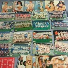 Coleccionismo deportivo: CARTAS QUINIELA DE LA SUERTE 1ªDIVISION AÑOS 70. Lote 28631975