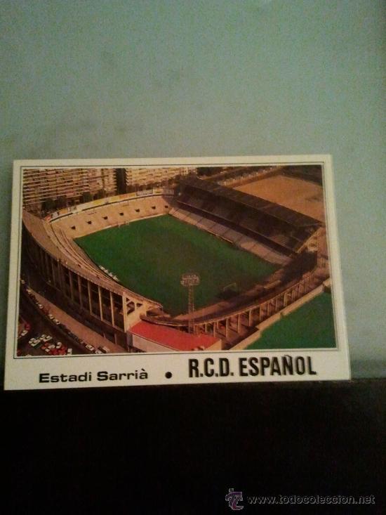 POSTAL SARRIA ESPAÑOL ESPANYOL (Coleccionismo Deportivo - Postales de otros Deportes )