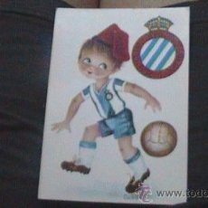 Coleccionismo deportivo: POSTAL ANTIGUA R C D ESPANYOL ESPAÑOL. Lote 28705600