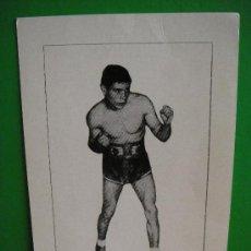 Coleccionismo deportivo: BOXEADOR ARAGONES AGUSTIN LOREN CAMPEON DE ESPAÑA PESO PLUMA EN 1963 . Lote 29009116