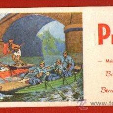 Coleccionismo deportivo: ANTIGUO PAPEL SECANTE FRANCÉS: TORNEO SOBRE BARCAS - SIN USAR Y BIEN CONSERVADO - AÑOS 50. Lote 29152997