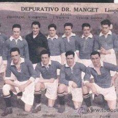 Collectionnisme sportif: REAL SOCIEDAD DE SAN SEBASTIAN-CAMPEÓNDE GUIPUZCOA 1922-1923. Lote 29331470