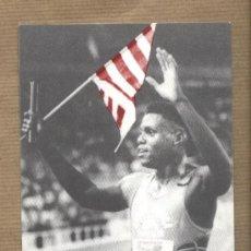Coleccionismo deportivo: POSTAL ACCIÓ OLÍMPICA ENVIADA A PASQUAL MARAGALL REIVINDICANDO REALIDAD NACIONAL CATALANA 1992. Lote 134793827