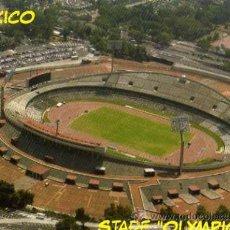 Coleccionismo deportivo: CAMPO DE FÚTBOL- UNAM Y PUMAS - ESTADIO OLÍMPICO MEXICO - NUEVA SIN CIRCULAR . Lote 30414622