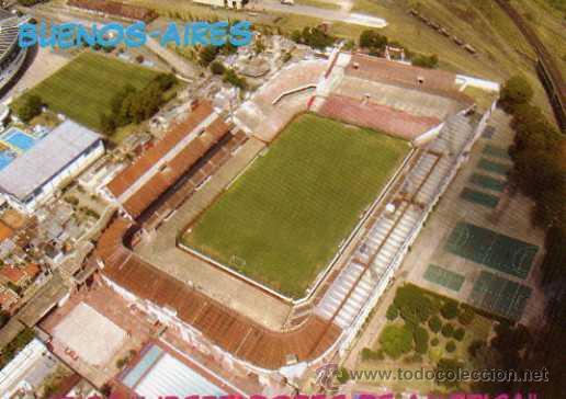 CAMPO DE FÚTBOL- CA INDEPENDIENTE - ARGENTINA - ESTADIO LIBERTADORES DE AMÉRICA -NUEVA SIN CIRCULAR (Coleccionismo Deportivo - Postales de otros Deportes )
