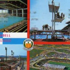 Coleccionismo deportivo: SABADELL Nº 116 POSTALES BADALONA ESCRITA CIRCULADA SELLO. Lote 30450509