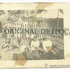 Coleccionismo deportivo: (F-318)POSTAL FOTOGRAFICA EQUIPO DE FOOT-BALL AÑOS 20. Lote 30614092