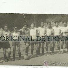 Coleccionismo deportivo: (F-423)FOTOGRAFIA EQUIPO DE FOOT-BALL PEÑA GANSTERS LA CUBANA (PARALELO). Lote 30865109