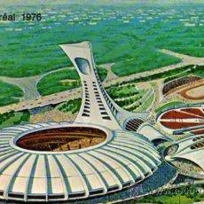 Coleccionismo deportivo: MONTREAL OLIMPIADAS 1976 QUÉBEC CANADA ESCRITA CIRCULADA SELLO. Lote 31625366
