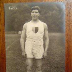 Coleccionismo deportivo: POSTAL DE BOXEO - PAOLI. Lote 31635972