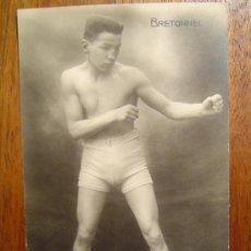 Coleccionismo deportivo: POSTAL DE BOXEO - BRETONNEL . Lote 31636010