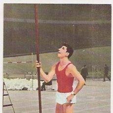 Coleccionismo deportivo: POSTAL DE IGNACIO SOLA (ATLETISMO). Lote 33962366