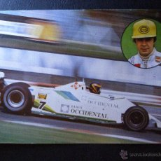 Coleccionismo deportivo: EMILIO DE VILLOTA - PILOTO CIBIE - 1980 - SIN ESCRIBIR -. Lote 41128486