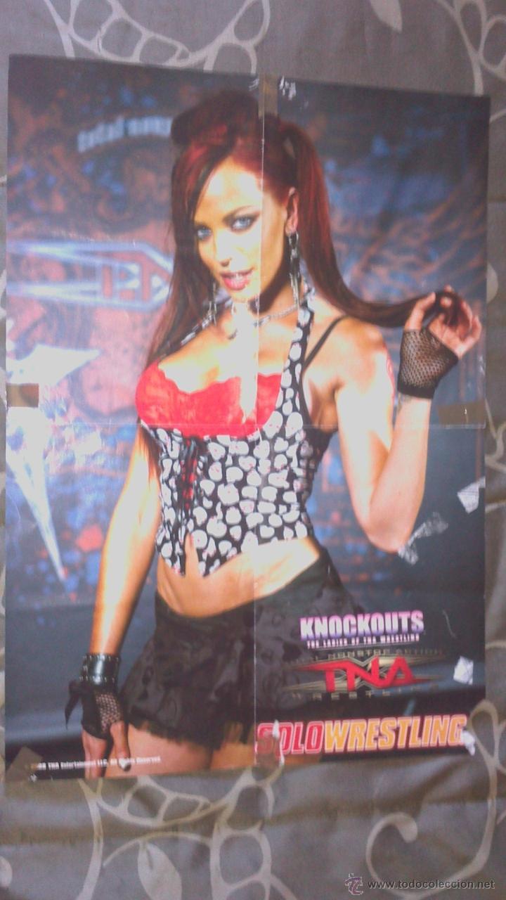 SOLO WRESTLING 2008 * POSTER A DOS CARAS * WWE (Coleccionismo Deportivo - Postales de otros Deportes )