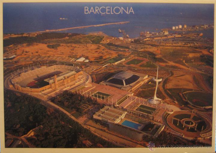 POSTAL BARCELONA ANILLO OLÍMPICO - ESTADIO MONTJUÏC - TRIANGLE POSTALS 207.3 - NO CIRCULADA (Coleccionismo Deportivo - Postales de otros Deportes )