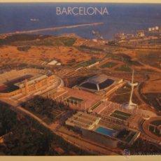 Coleccionismo deportivo: POSTAL BARCELONA ANILLO OLÍMPICO - ESTADIO MONTJUÏC - TRIANGLE POSTALS 207.3 - NO CIRCULADA. Lote 41622656