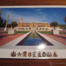 Coleccionismo deportivo: POSTAL BARCELONA ESTADIO OLÍMPICO DE MONTJUÏC - FACHADA - EDICIONES AM - REF. BAM-AM3168. Lote 41863828