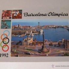 Coleccionismo deportivo: POSTAL BARCELONA 1992 BARCELONA OLIMPICA OLIMPIADAS 92 SIN CIRCULAR J.O. 107. Lote 42135780