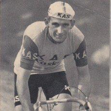Coleccionismo deportivo: POSTAL VALENTÍN URIONA - S D KAS - FOTO ARQUÉ - FOURNIER VITORIA - DEPÓSITO LEGAL VI - 238 - 1965. Lote 42363303