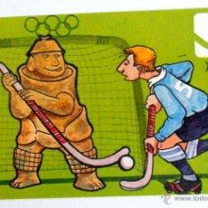 Colecionismo desportivo: POSTAL CARD JUEGOS OLIMPICOS MEXICO 68 OLYMPIC GAMES VINTAGE HOCKEY HIERBA. Lote 43967577