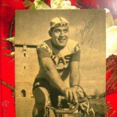 Coleccionismo deportivo: S.D.KAS (CICLISMO)..ANTONIO GOMEZ MORAL... FIRMADA. Lote 46630449