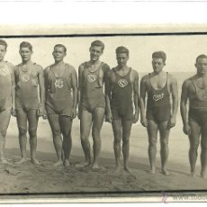 Coleccionismo deportivo: (F-0041)POSTAL FOTOGRAFICA,EQUIPO DEL CLUB NATACION BARCELONA-LLUIS GISBERT I RIERA. Lote 48196132