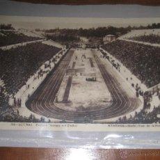 Coleccionismo deportivo: POSTAL ESTADIO OLIMPICO DE ATENAS (GRECIA) - OLYMPIC STADIUM MARATHON - Nº 708 CIRCULADA 1935. Lote 48219505