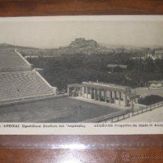 Coleccionismo deportivo: POSTAL ESTADIO OLIMPICO DE ATENAS (GRECIA) - OLYMPIC STADIUM MARATHON - Nº 1262 CIRCULADA 1936. Lote 48219577