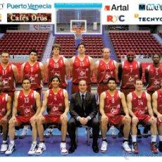 Coleccionismo deportivo: POSTAL BALONCESTO CAI ZARAGOZA 2007-2008. Lote 49539172