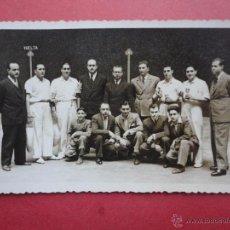 Coleccionismo deportivo: TARJETA POSTAL. JAI ALAI. SELLO FINÉZAS. ENTREGA DE TROFEOS. Lote 49752911