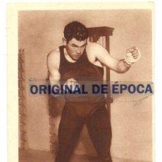 Coleccionismo deportivo: (F-7104)POSTAL DE PAULINO UZCUDUN(CAMPEON DE EUROPA DE BOXEO). Lote 50137232