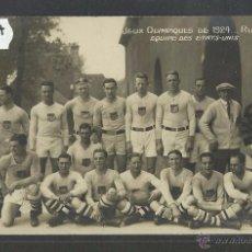 Coleccionismo deportivo: ESTADOS UNIDOS USA - RUGBY - JUEGOS OLIMPICOS - AÑO 1924 - FOTOGRAFICA - (CD-1727). Lote 50942890