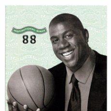 Coleccionismo deportivo: POSTAL MAGIC JOHNSON - AÑO 2000. Lote 51032866