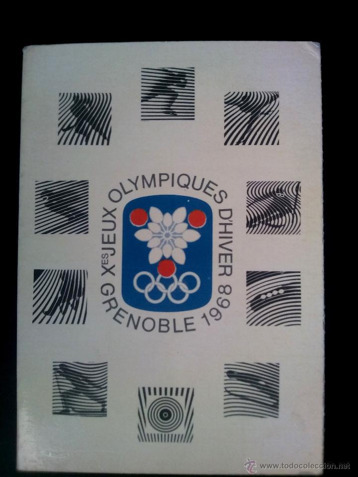 Librillo De 6 Postales De Los Juegos Olimpicos Comprar Postales