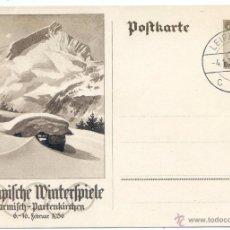 Coleccionismo deportivo: JUEGOS OLÍMPICOS DE INVIERNO GARMISCH-PARTENKIRCHEN 1936,. Lote 51865438