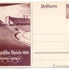 Coleccionismo deportivo: JUEGOS OLÍMPICOS DE BERLIN 1936,. Lote 51865457