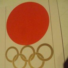 Coleccionismo deportivo: POSTAL DE LOS JUEGOS OLIMPICOS DE TOKYO 1964 SIN CIRCULAR. Lote 53558343
