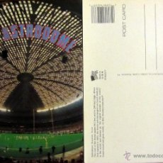 Coleccionismo deportivo: POSTAL POST CARD THE ASTRODOME STADIUM FOOTBALL BEISBALL HOUSTON TEXAS. Lote 53716157