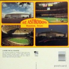 Coleccionismo deportivo: POSTAL POST CARD THE ASTRODOME STADIUM FOOTBALL HOUSTON TEXAS. Lote 53716169
