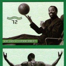 Coleccionismo deportivo: LOTE 2 POSTALES BALONCESTO NBA: WALT FRAZIER, MARCUS CAMBY - SIN CIRCULAR, AÑO 2000 - LAS QUE SE VEN. Lote 54052026