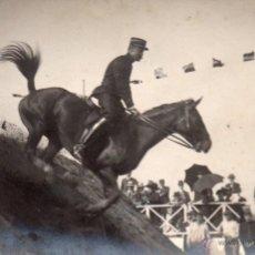 Coleccionismo deportivo: CONCURSO HÍPICA, POSTAL CIRCULADA Y SELLADA EN 1909. Lote 55045012