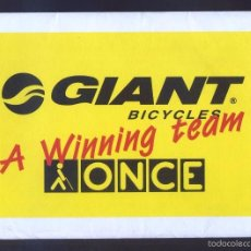 Coleccionismo deportivo: CICLISMO. *ONCE-EROSKI AND GIANT BICYCLES: A WINNING COMBINATION 2002* COMPLETA 10 UNIDADES. NUEVAS.. Lote 55197254
