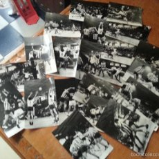 Coleccionismo deportivo: BALONMANO BM GRANOLLERS ELENA - ATLETICO DE MADRID , COLECCION 21 FOTOGRAFIAS ANTIGUAS PARTIDO. Lote 57823610