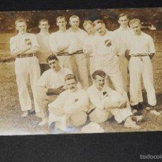 Coleccionismo deportivo: EQUIPO DE CRICKET ALEMÁN AÑO 1906. POSTAL ENVIADA A UDO STEINBERG (JUGADOR DEL FC BARCELONA). Lote 58297551