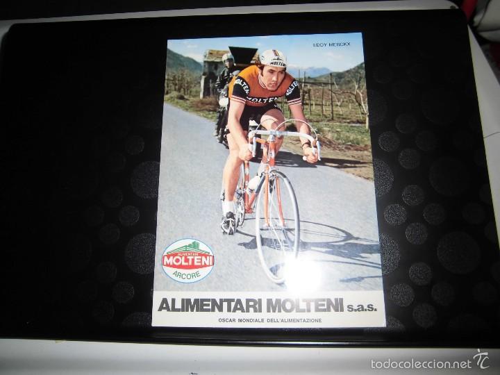 OSCAR MONDIALE DEL EQUIPO CICLISTA MOLTENI (Coleccionismo Deportivo - Postales de otros Deportes )